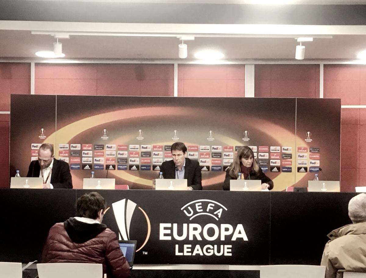 """Rudi Garcia: """"Obviamente no estoy contento con el resultado de hoy"""""""