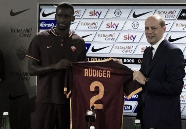 """Roma, ecco Rudiger: """"Qui per conquistare l'Europeo"""""""