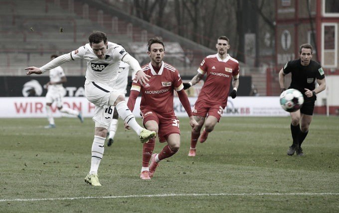 Em jogo fraco, Union Berlin arranca empate contra Hoffenheim