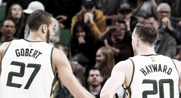 """NBA- Rudy Gobert parla della scelta di Hayward: """"Spero che trovi quello che cerca"""""""