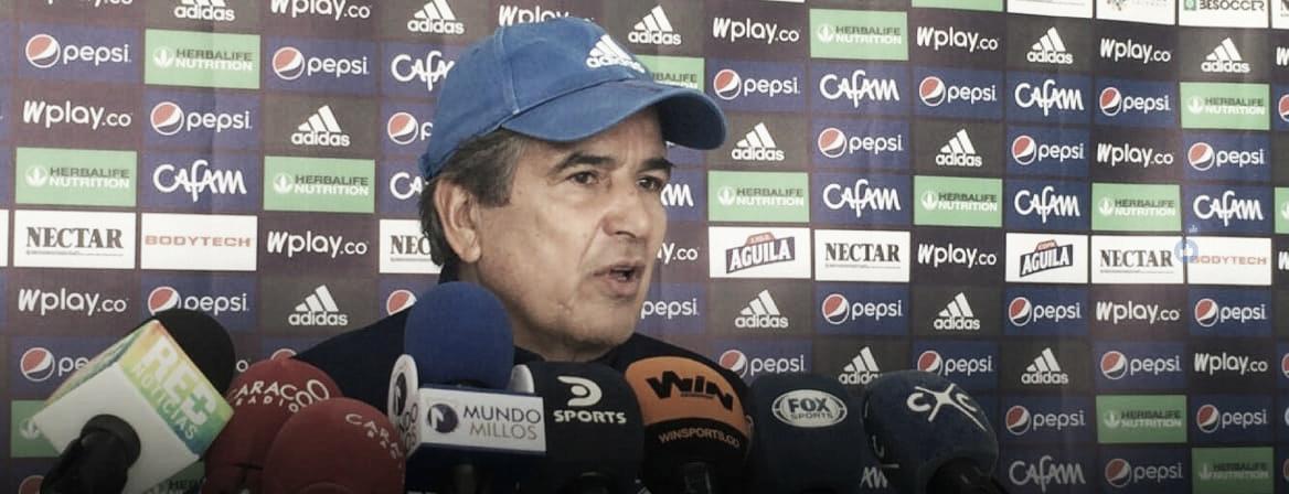"""Jorge Luis Pinto: """"Wuilker y Juan David van a estar en el clásico"""""""