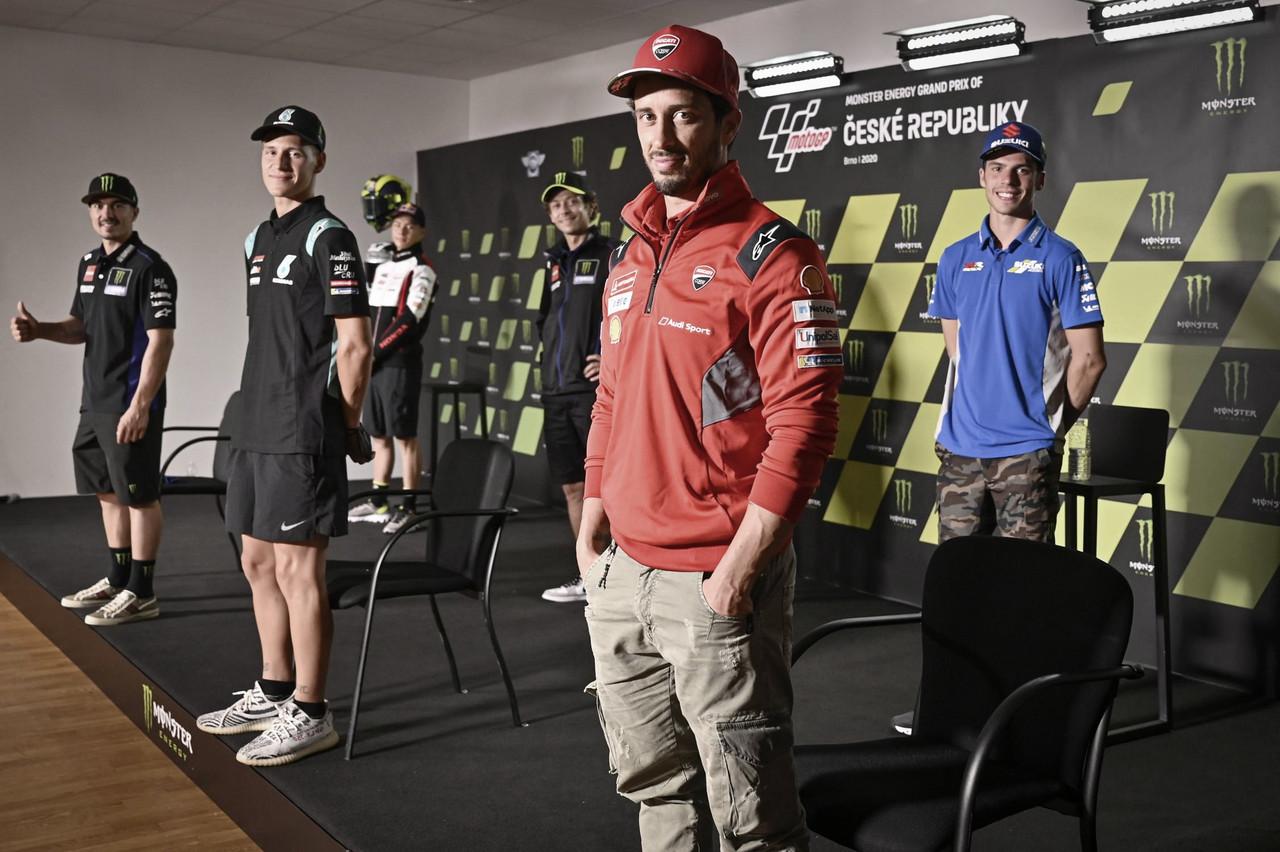 Rueda de prensa del GP República Checa 2020