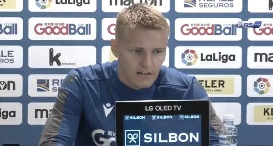 """Martin Odegaard: """"Jugar la Champions es un sueño para cualquier futbolista"""""""