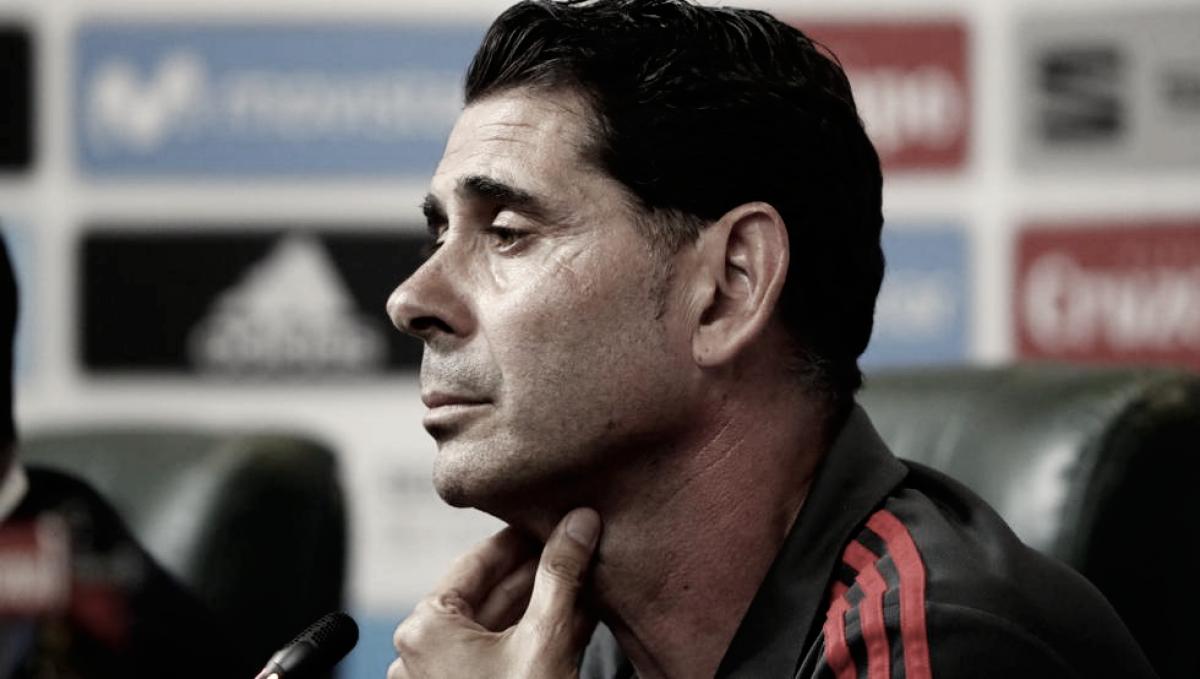 """Hierro: """"Confianza plena en nuestro equipo"""""""