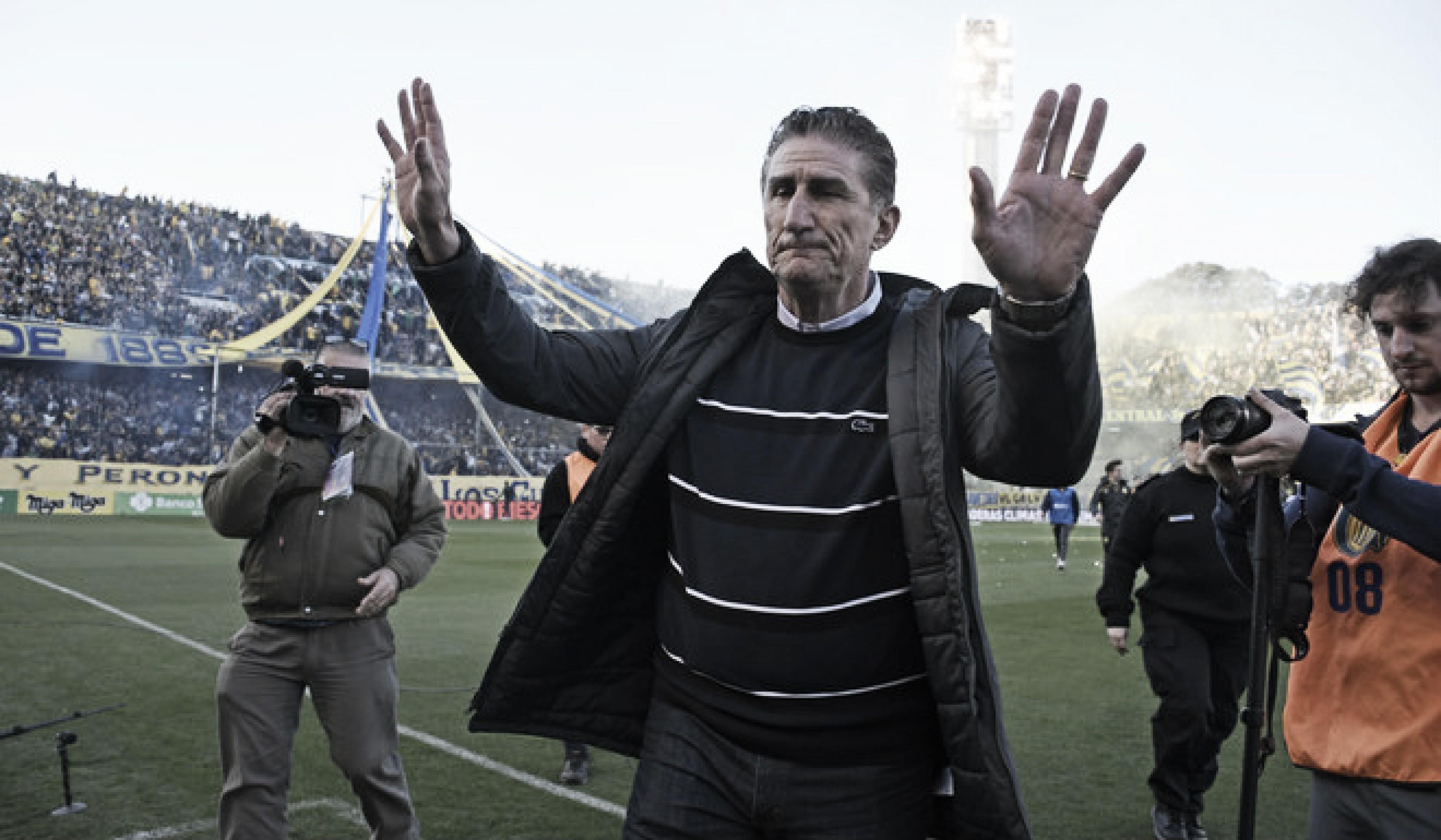 """Edgardo Bauza: """"Al equipo lo voy a dar mañana"""""""