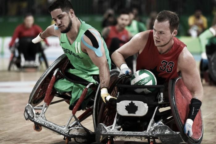 Brasil perde na estreia do rugby paralímpico
