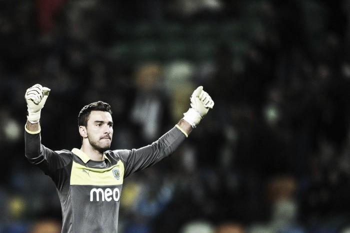 Sporting: Rui Patrício a um jogo de fazer história na UEFA
