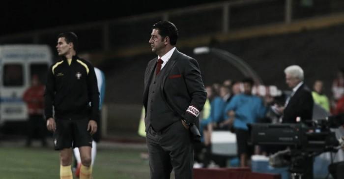 """Rui Vitória: """"Trabajamos y luchamos hasta el final"""""""
