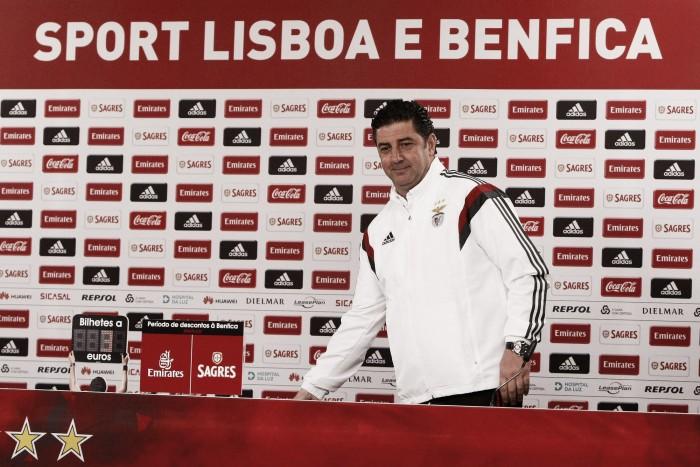 """Sporting x Benfica: """"É mais um jogo, a primeira das dez finais"""", afirma Rui Vitória"""