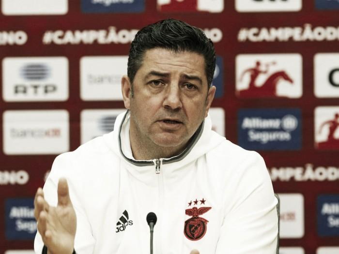 """Rui Vitoria: """"Vamos a Algarve con mucha voluntad y determinación"""""""