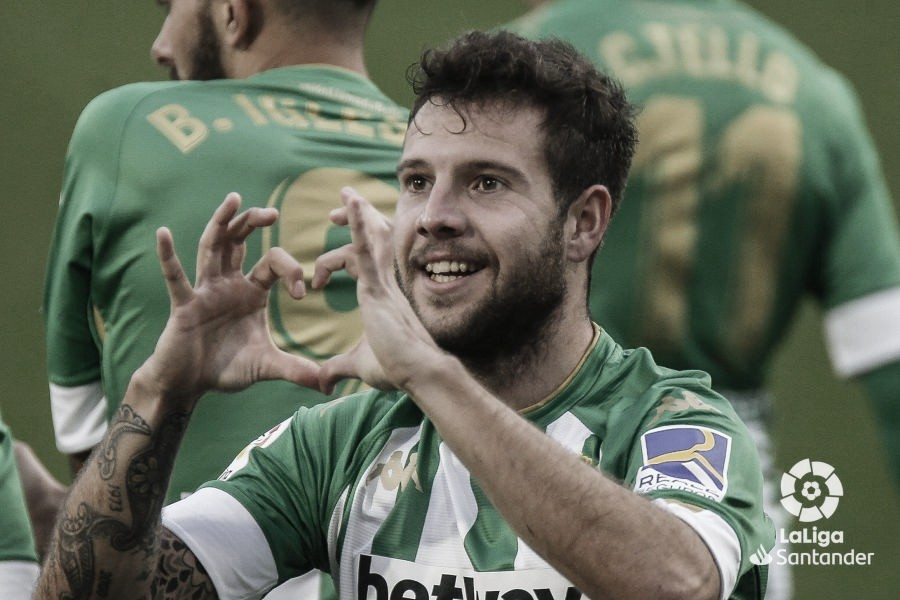 Aitor Ruibal, MVP Betis - Villarreal