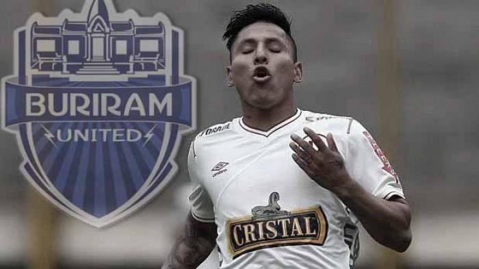 Raúl Ruidíaz es el nuevo fichaje del Buriram United de Tailandia