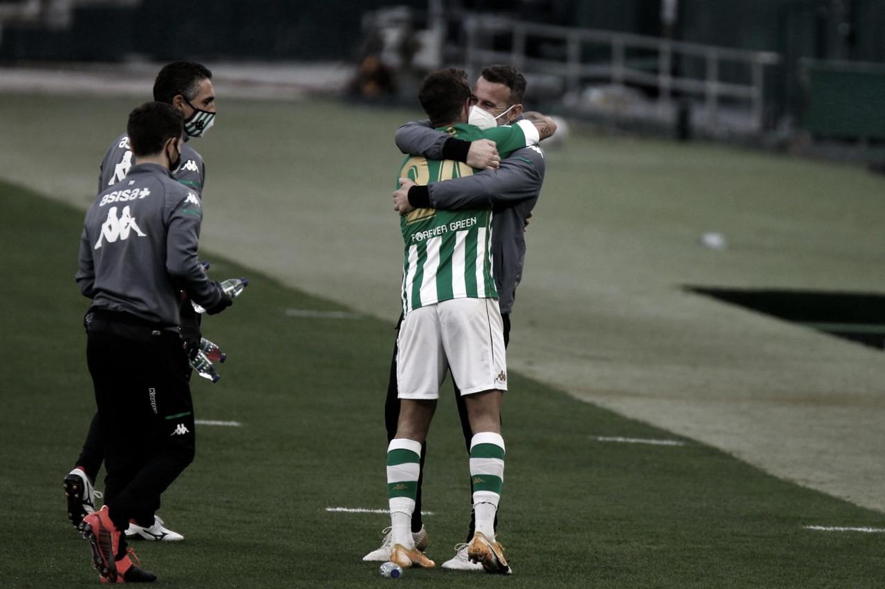 Ruibal, gol con celebración especial