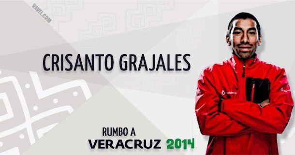 Rumbo a Veracruz 2014: Crisanto Grajales, el jarocho que nadará, pedaleará y correrá por el oro