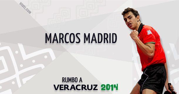 Rumbo a Veracruz 2014: Marcos Madrid, la joya del tenis de mesa