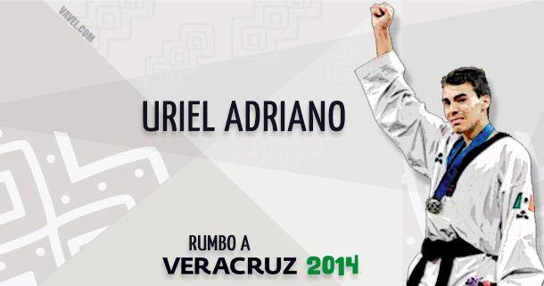 Rumbo a Veracruz 2014: Uriel Adriano, un campeón de estirpe