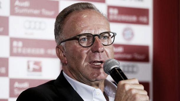 Juve, Rummenigge annuncia Vidal e frena l'affare Gotze