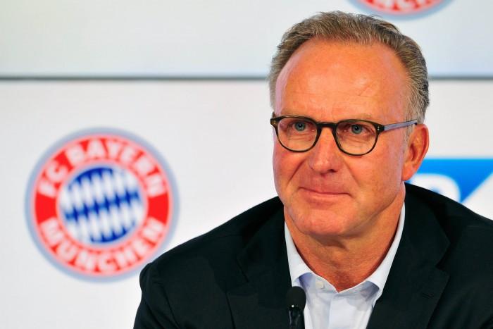 """Bayern Monaco, Rummenigge: """"Siamo in corsa su tre fronti. Juve e Napoli sono due squadre forti..."""""""