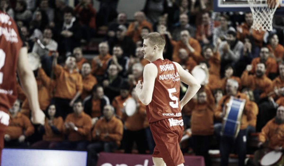 Rupnik analizó el estado actual del equipo. Foto: Baloncesto Fuenlabrada
