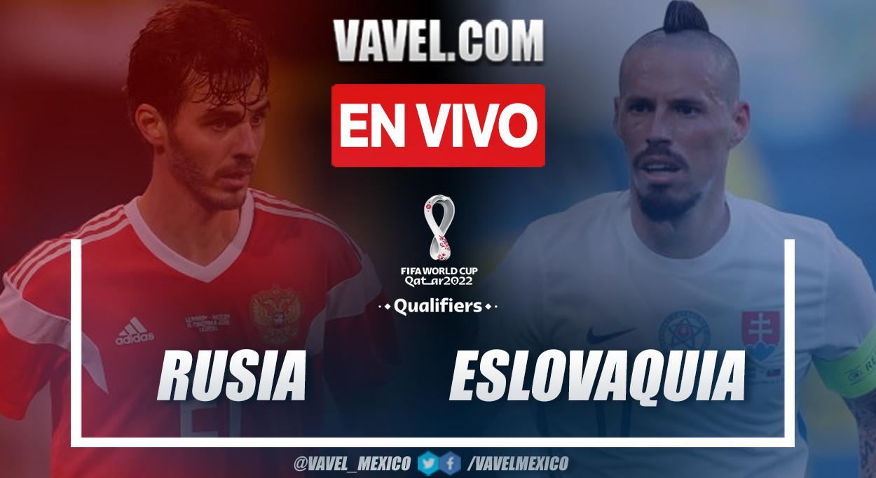 Resumen y goles: Rusia vs Eslovaquia (1-0)