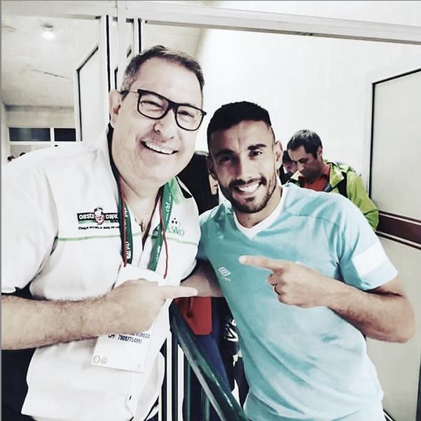 """Ruschel dedica vitória da Chape a Rafael Henzel: """"Para deixá-lo mais alegre lá em cima"""""""