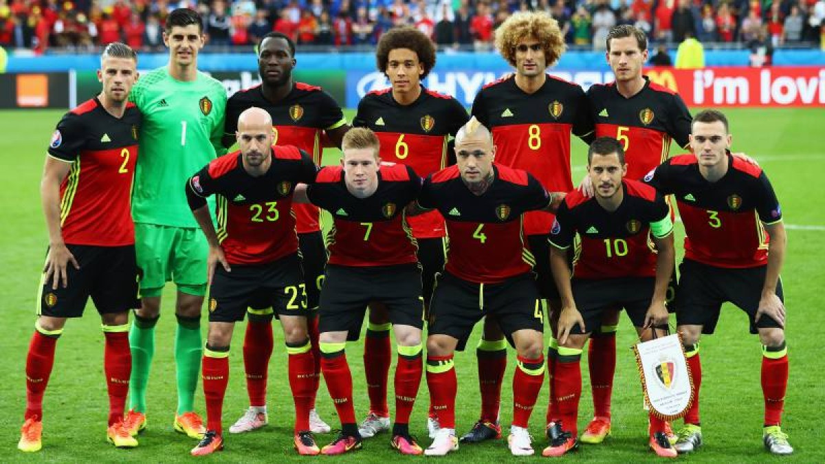 Los 23 de Roberto Martínez en Bélgica para el Mundial de Rusia 2018