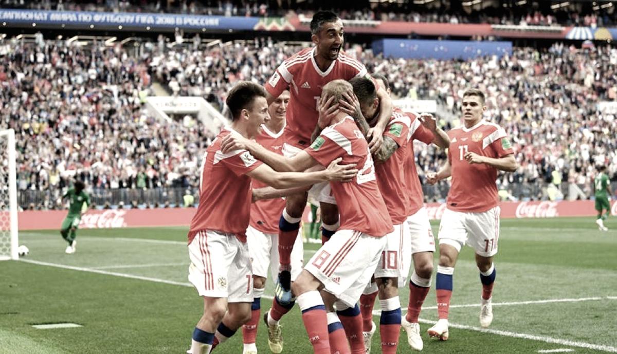 Cinco goles desde Rusia con amor