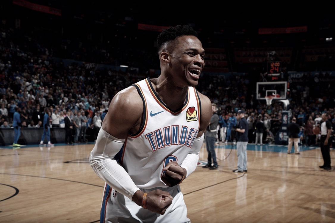 Westbrook hace historia en la NBA