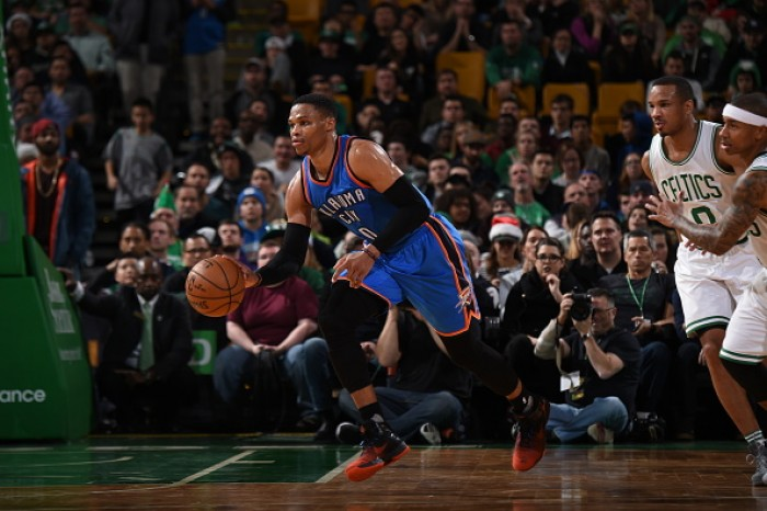 NBA - Westbrook irreale: Boston al tappeto. Barnes e Lowry trascinano Mavericks e Raptors