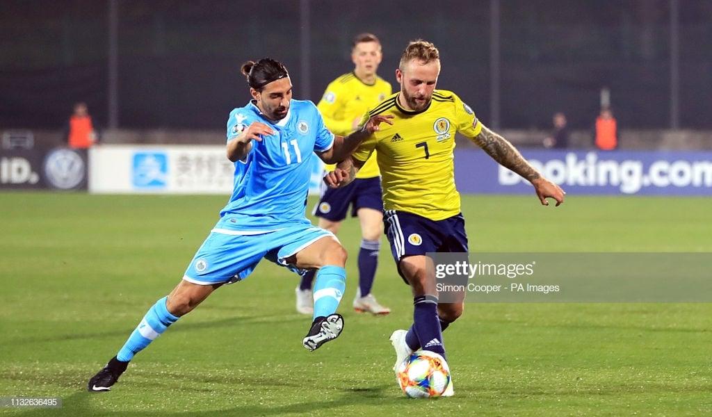 San Marino 0-2 Scotland: McClean & Russell show the way in Serravalle