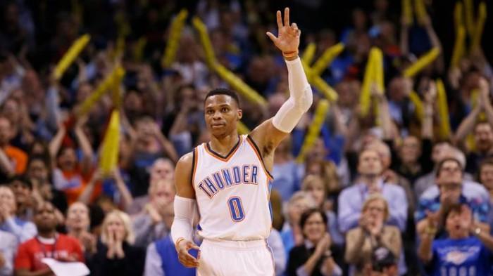 NBA - Westbrook fa la storia e i Thunder superano i Bucks; i Nets stracciano i Philadelphia 76ers