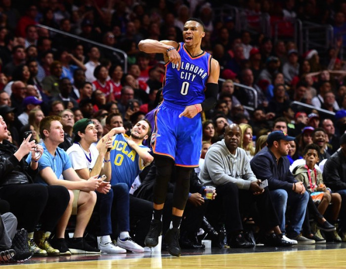 Nba - In sala video: Tutto il Westbrook che c'è in Westbrook nel finale contro i Clippers