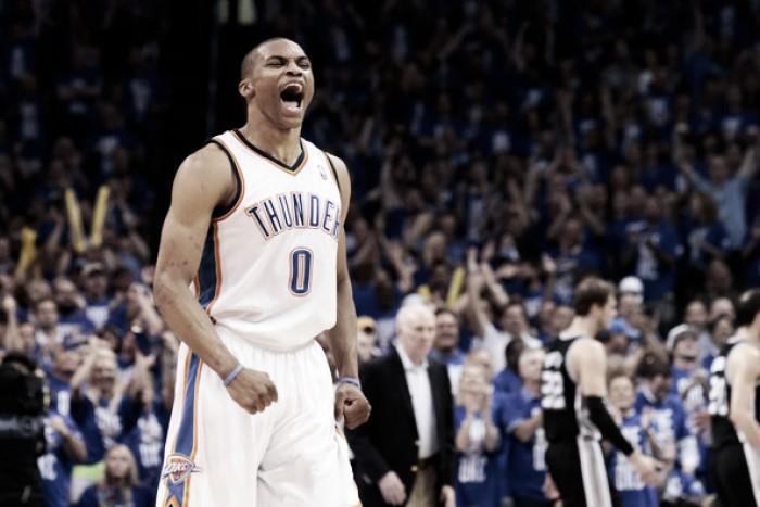 Russell Westbrook renova com Oklahoma City Thunder por US$ 85 milhões em três anos