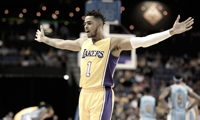 The Los Angeles Lakers look to do the double over the Philadelphia 76ers
