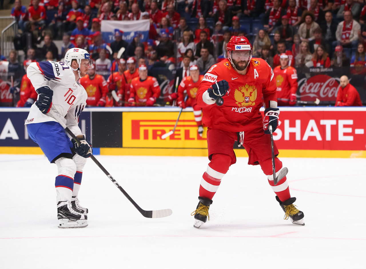 Russia cruised to a win in their opener (Photo: Andre Ringuette/IIHF Images)
