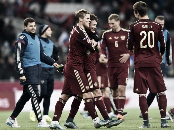 Russia name 22 home-based players in 23-man squad for Euros