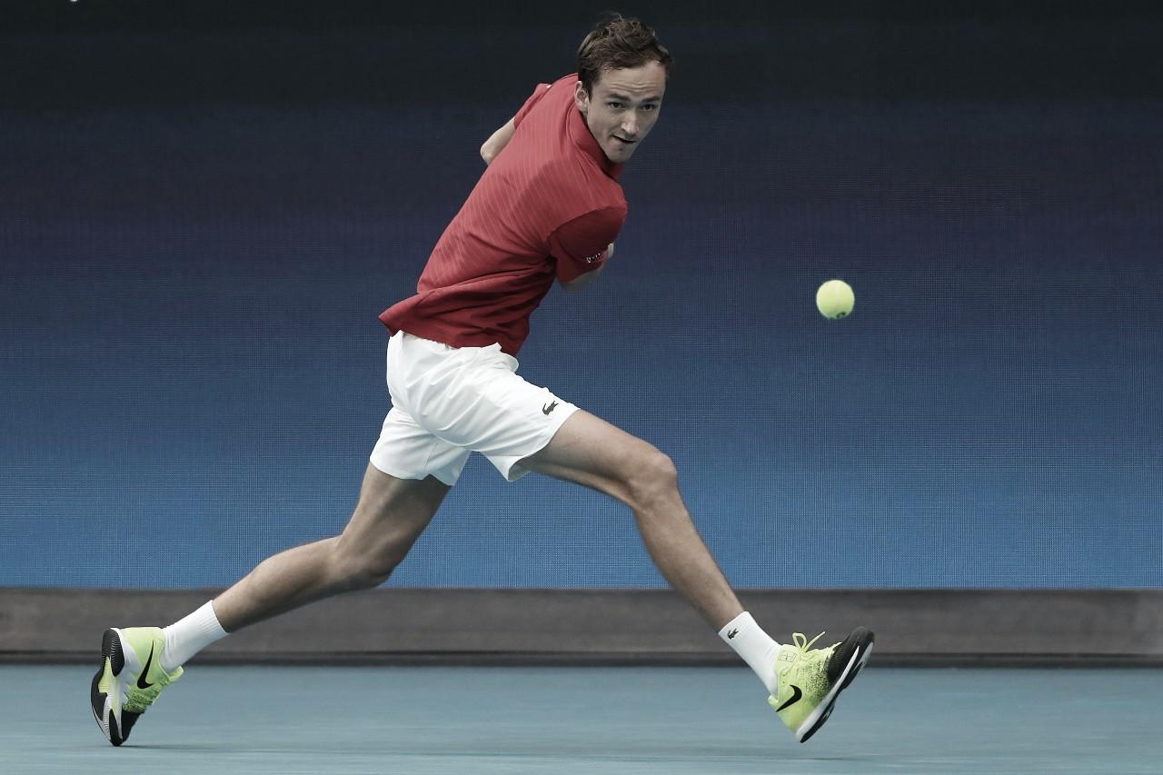 Medvedev e Rublev confirmam favoritismo, e Rússia bate Argentina na ATP Cup