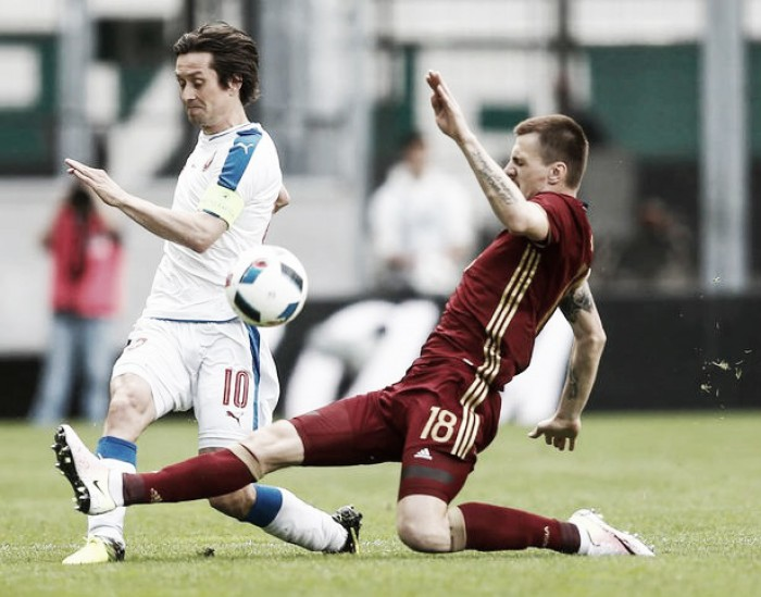 Late goals and injuries spoil Russia's Euro 2016 preparation