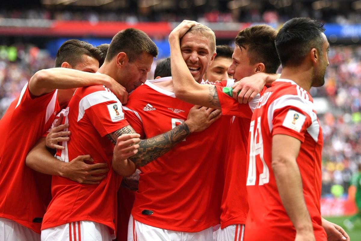 Mondiali Russia 2018 - Ottimo esordio per la Russia: Arabia Saudita battuta 5-0