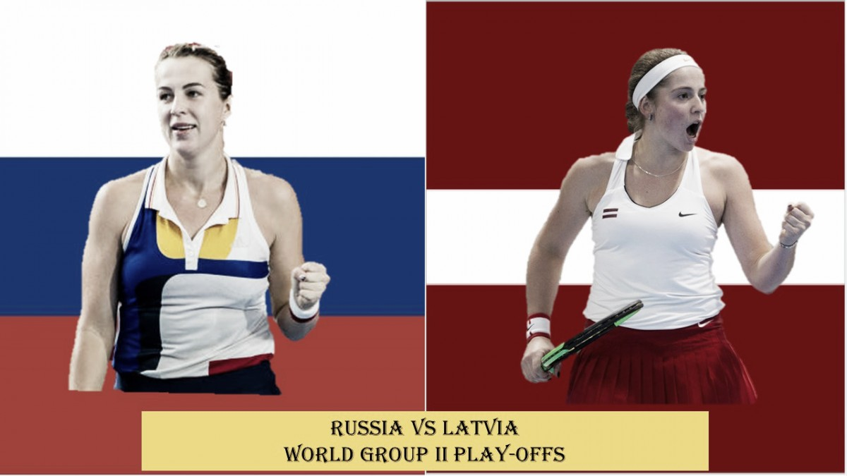 Fed Cup World Group II Playoffs preview: Russia vs Latvia