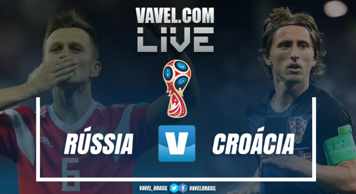 Resultado e gols de Rússia x Croácia pela Copa do Mundo 2018 (2-2 (3-4))