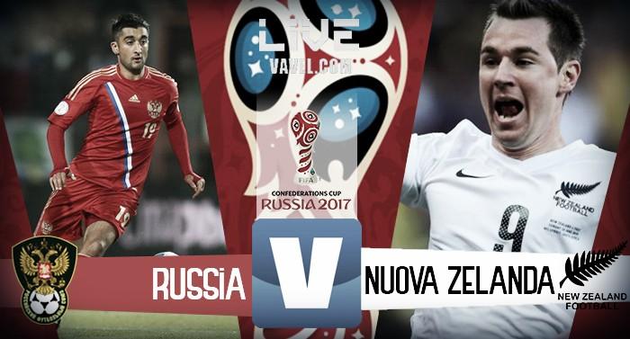 Russia-Nuova Zelanda in diretta, LIVE Confederations Cup 2017. La Russia trionfa 2-0 sulla Nuova Zelanda