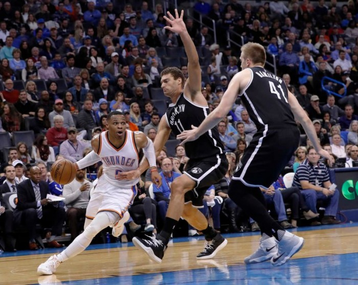 NBA - Cleveland ed Okc a valanga su Detroit e Brooklyn