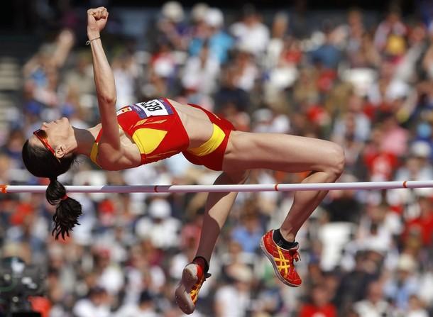 Ruth Beitia luchará por las medallas