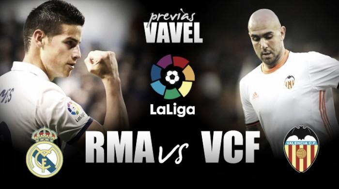 "Antes de encarar Atlético pela UCL, Real Madrid recebe ""descompromissado"" Valencia"
