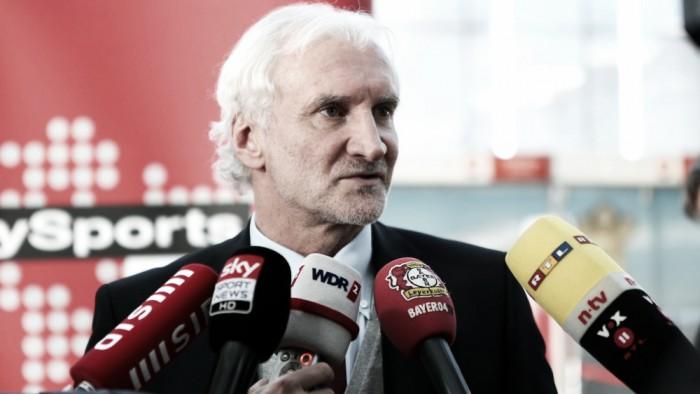 Rudi Völler signs bumper Bayer extension