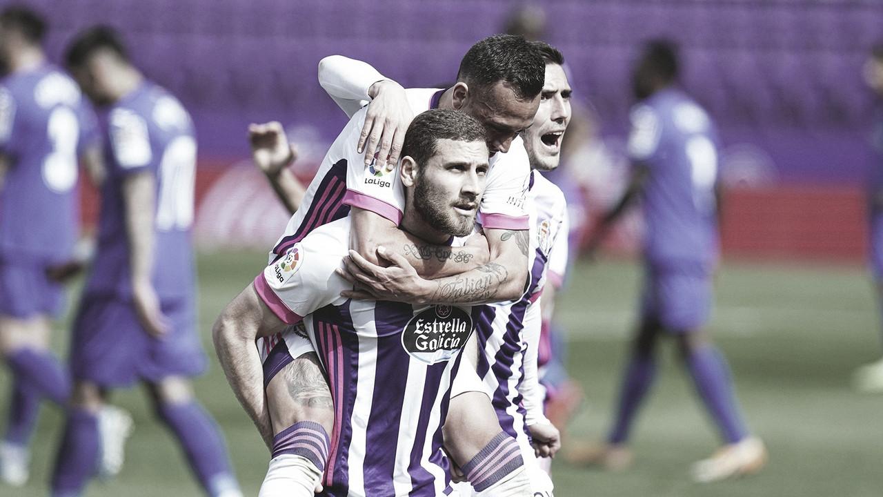 Real Valladolid-Getafe: puntuaciones del Real Valladolid, jornada 26 de LaLiga Santander