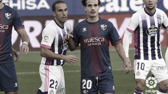 Resumen Real Valladolid vs Huesca (1-3) en LaLiga Santander 2021