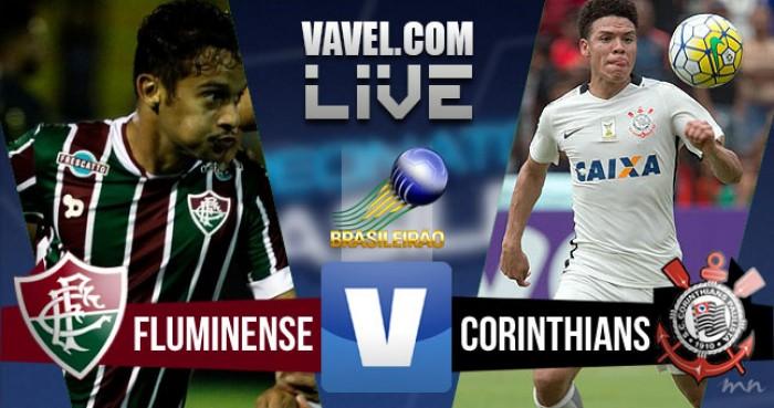 Resultado Fluminense x Corinthians no Campeonato Brasileiro 2016 (1-0)