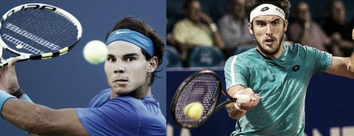 Rafael Nadal vence Leonardo Mayer pelo US Open 2017 (3-1)